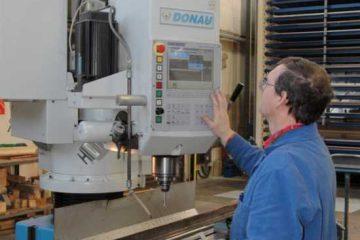Donau-Auslegerbohrmaschine 2800 x 800 mm