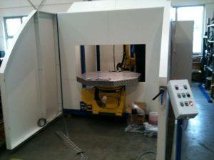 Fanuc Arc - Mate 100iC - Schweißroboter Teilegröße max. L=1200 x B=1200 x H=1200 mm Teilegewicht max. 500 kg