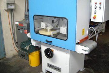 LOEWER - Blechentgratmaschine Teilegröße max. 20 x 20 mm