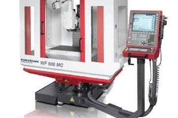 CNC - Fräsmaschine mit Verfahrwegen X=600 mm, Y=350 mm, Z=400 mm