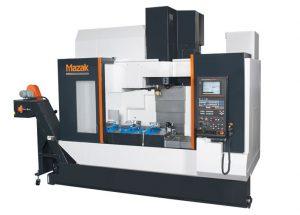 CNC gesteuertes vertikales Bearbeitungszentrum Verfahrbereiche X = 1.050 mm, Y = 530 mm, Z = 510 mm