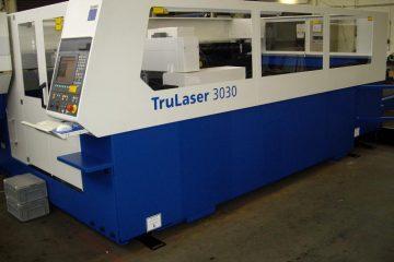 Trumpf-Lasermaschine für Blechgröße 1500 x 3000 mm